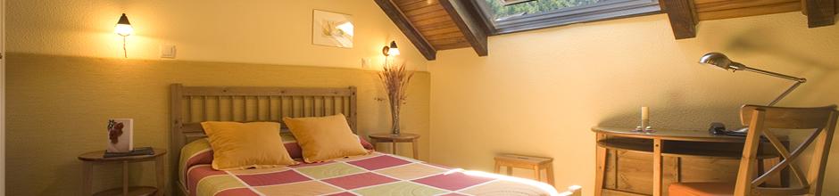 habitaciones - Irati - Hoteles Selva de Irati - Hotel Rural Besaro - Ochagavia - Navarra.